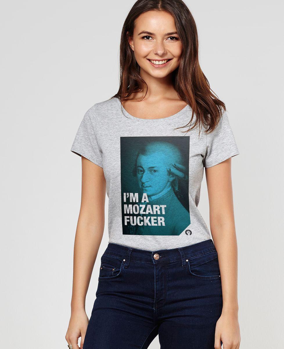 T-Shirt femme Mozart
