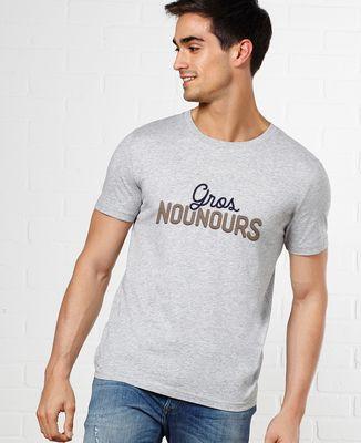 T-Shirt homme Gros nounours