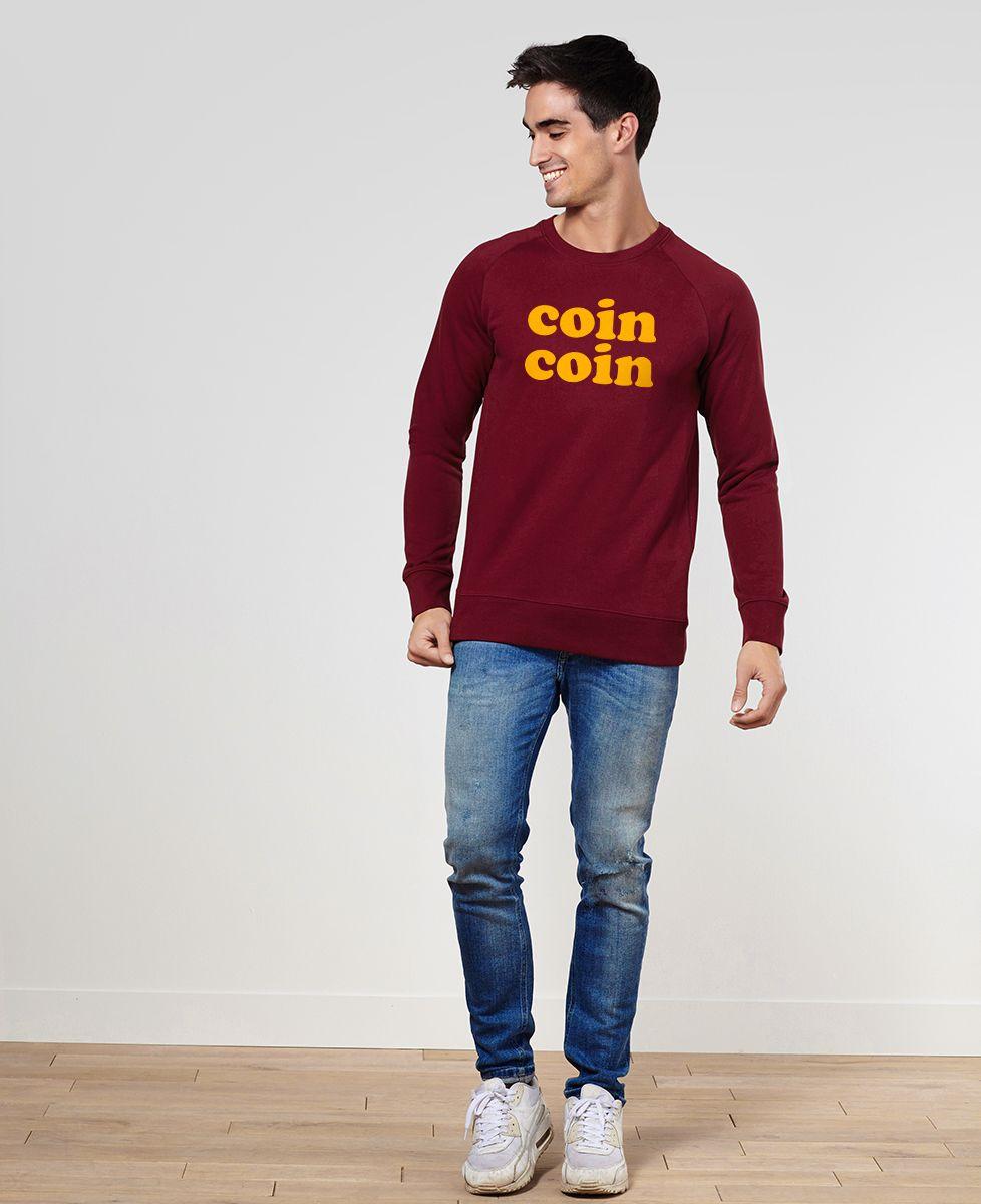 Sweatshirt homme Coin coin