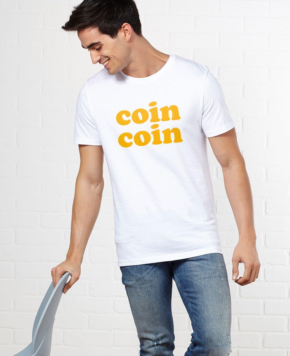 T-Shirt homme Coin coin
