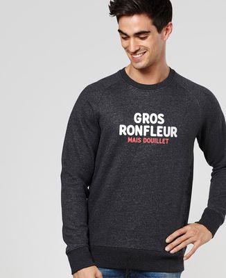 Sweatshirt homme Gros ronfleur mais douillet