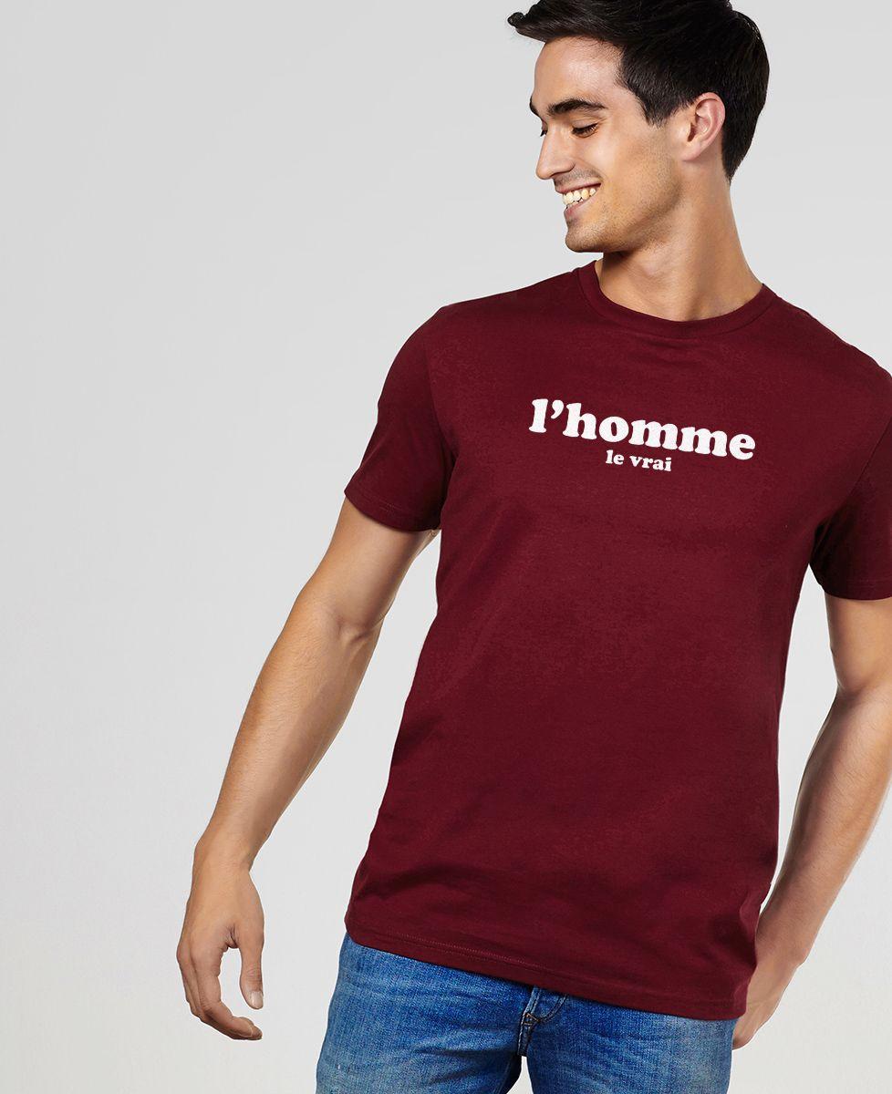 T-Shirt homme L'homme le vrai
