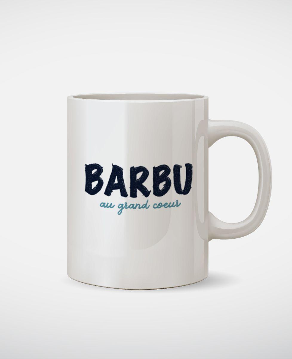 Mug Barbu au grand coeur
