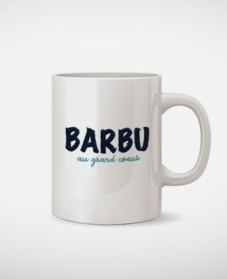 Mug Barbu au grand coeur