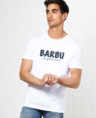 T-Shirt homme Barbu au grand coeur