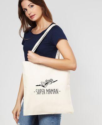 Tote bag Maman Super-héroïne