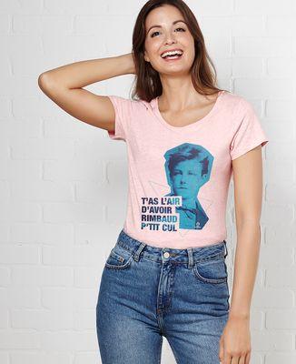 T-Shirt femme Rimbaud Cut