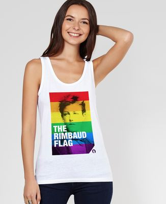 Débardeur femme Rimbaud Flag