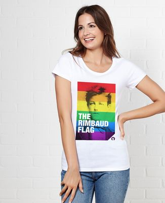 T-Shirt femme Rimbaud Flag
