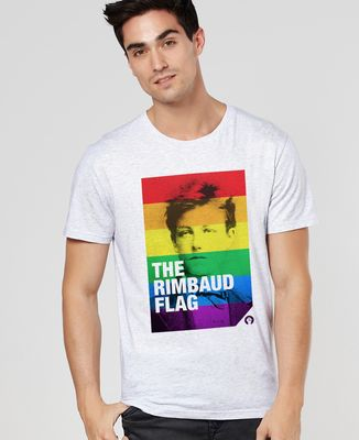 T-Shirt homme Rimbaud Flag