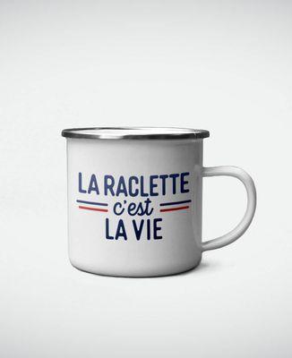 Mug La raclette c'est la vie