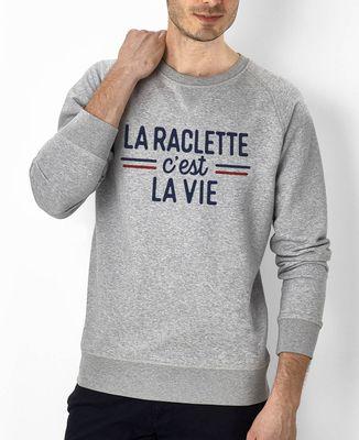 Sweatshirt homme La raclette c'est la vie