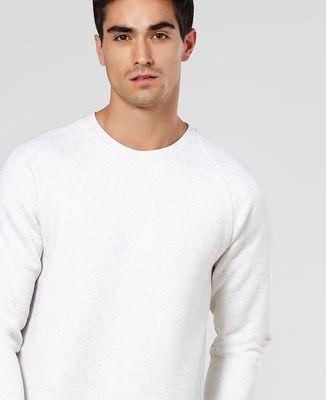 Sweatshirt homme Coeur brodé personnalisé