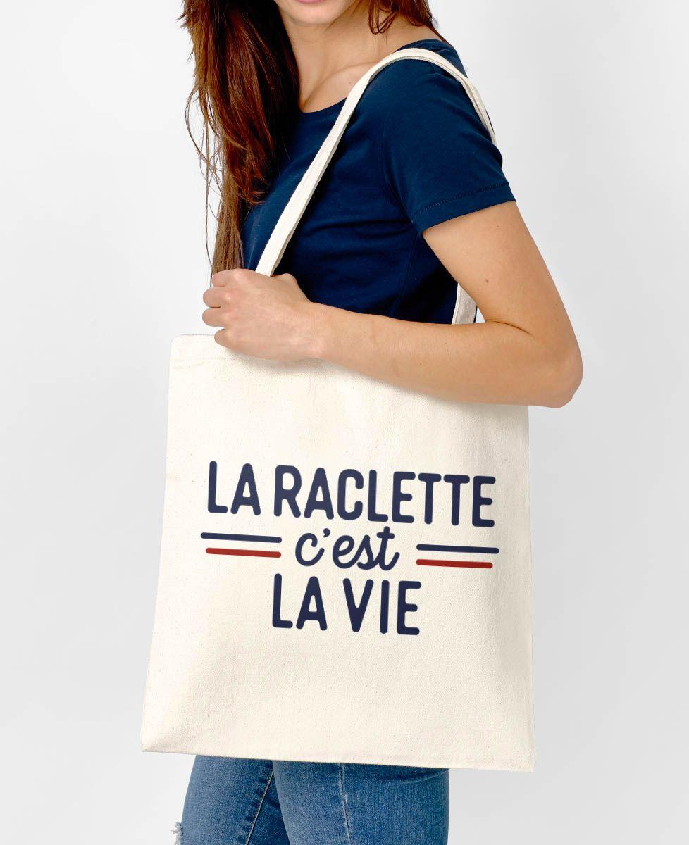 Tote bag La raclette c'est la vie