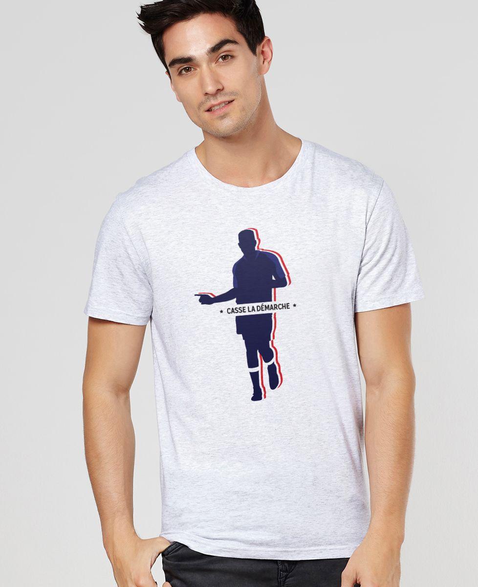 T-Shirt homme Casse la démarche