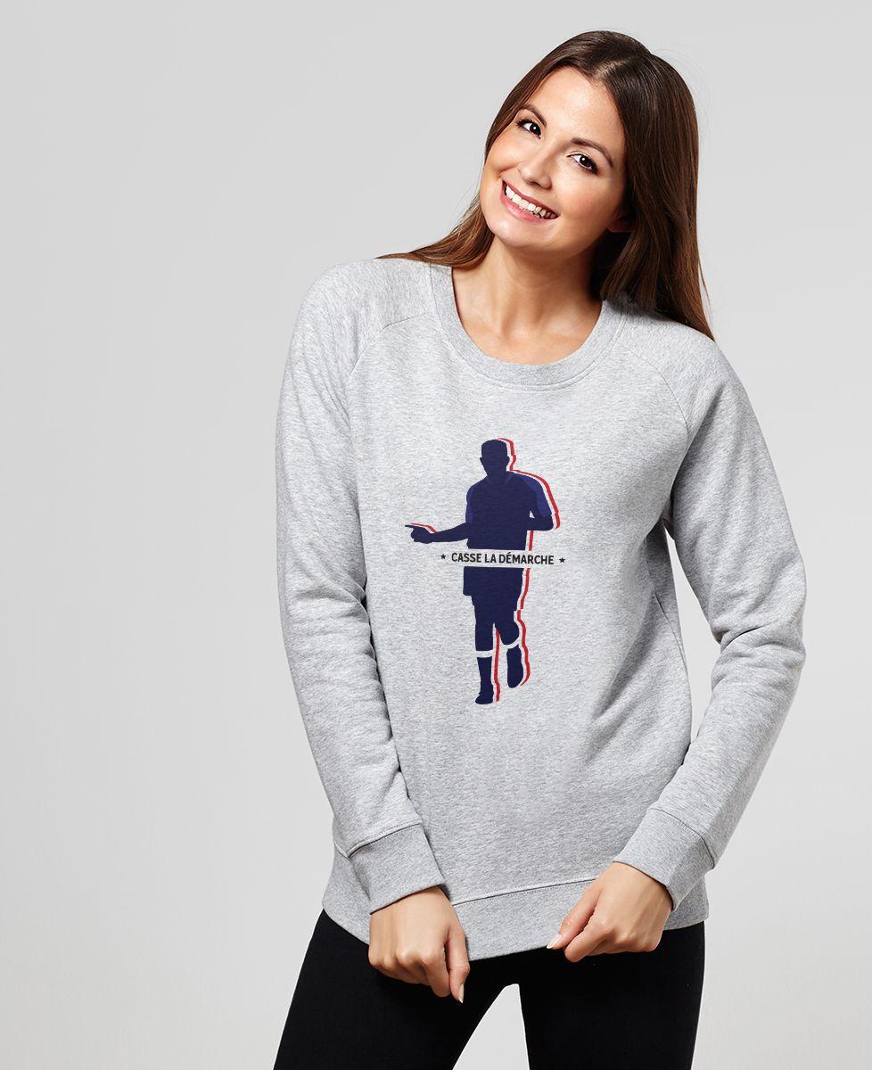 Sweatshirt femme Casse la démarche