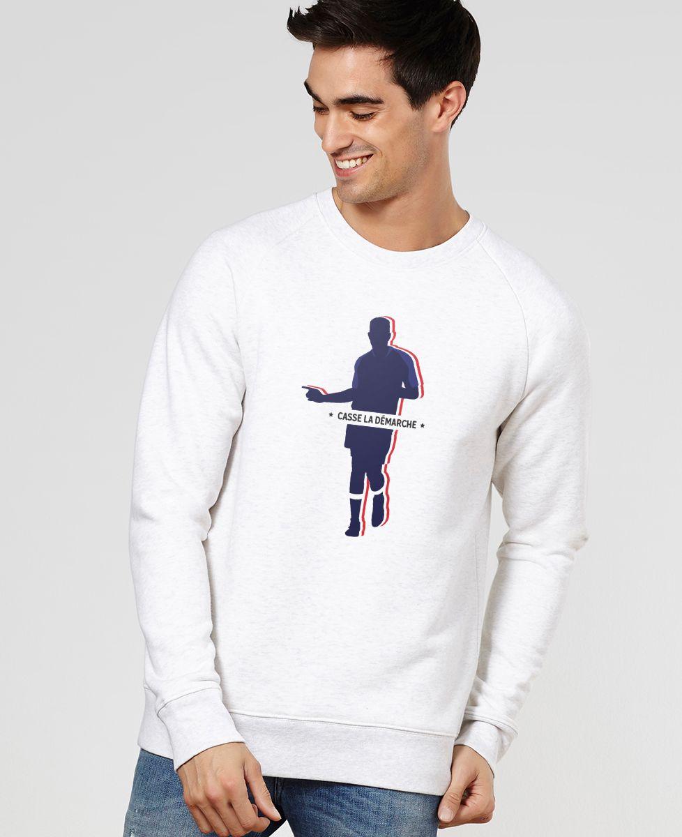 Sweatshirt homme Casse la démarche