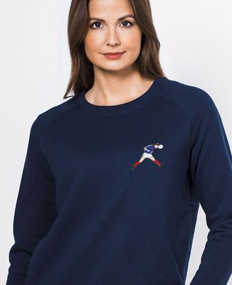 Sweatshirt femme Zizou (écusson)
