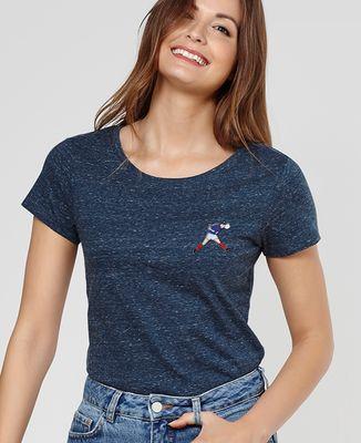 T-Shirt femme Zizou (écusson)