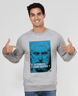 Sweatshirt homme Thalès