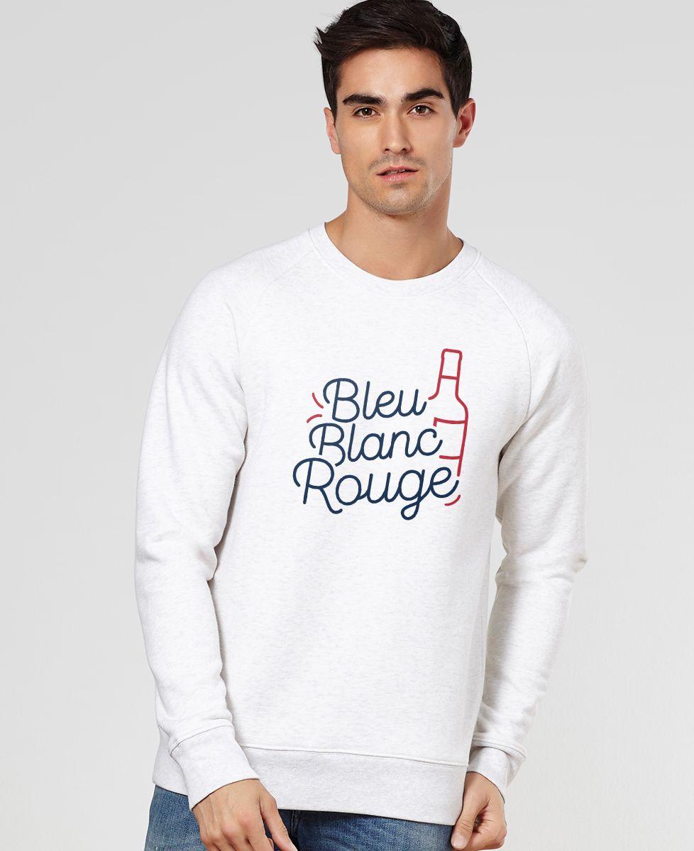 sweat bleu blanc rouge monsieur tshirt mode homme. Black Bedroom Furniture Sets. Home Design Ideas