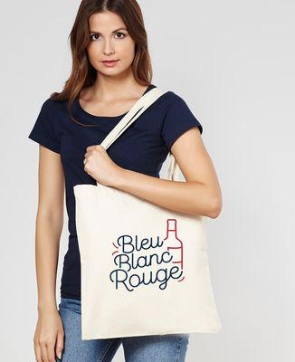 Tote bag Bleu blanc rouge