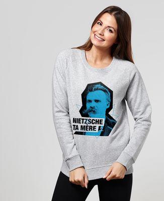 Sweatshirt femme Nietzsche Cut
