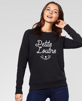 Sweatshirt femme Petite loutre