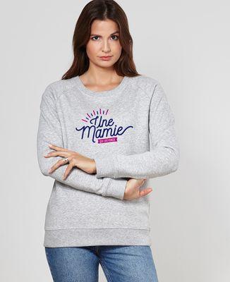 Sweatshirt femme Une mamie qui défonce