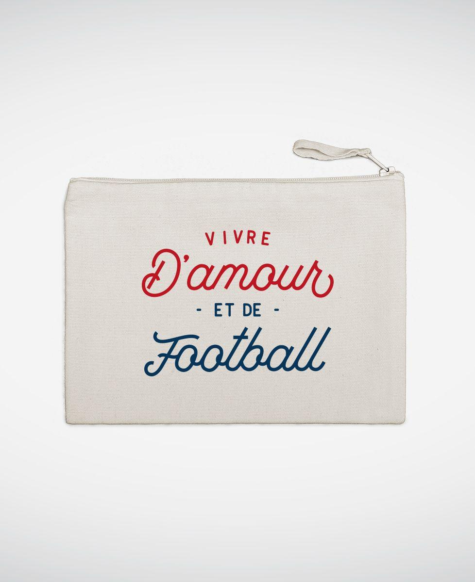 Pochette Vivre d'amour et de football