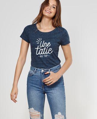 T-Shirt femme Une tatie au top