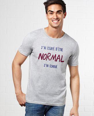 T-Shirt homme J'ai essayé d'être normal