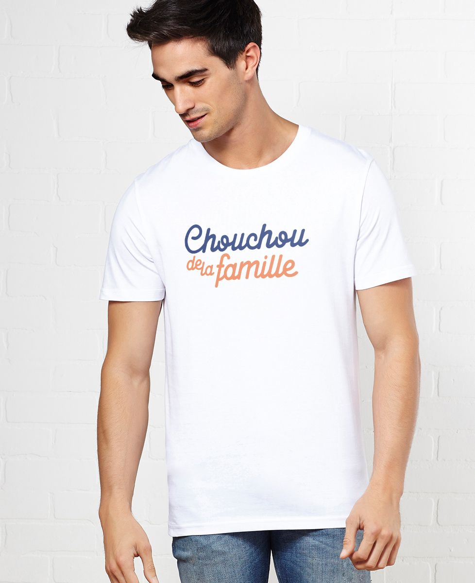 T-Shirt homme Chouchou de la famille