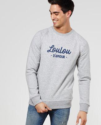 Sweatshirt homme Loulou d'amour