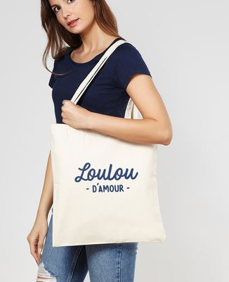 Tote bag Loulou d'amour