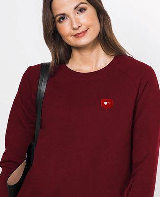 Sweatshirt femme Like (broderie)