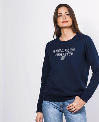 Sweatshirt femme À l'heure de l'apéro