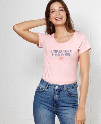 T-Shirt femme À l'heure de l'apéro