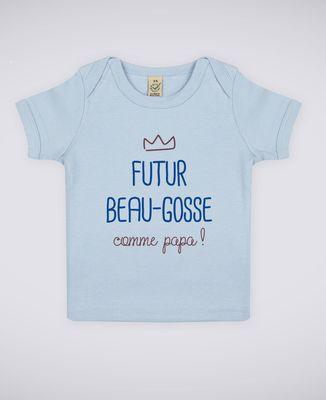 T-Shirt bébé Futur beau gosse