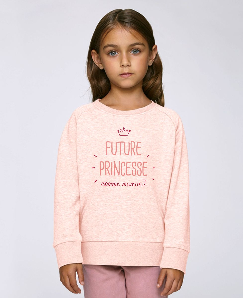 Sweatshirt enfant Future princesse