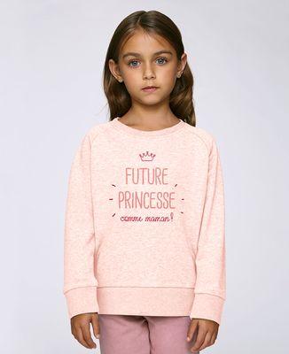 Sweatshirt enfant Future princesse