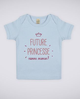 T-Shirt bébé Future princesse