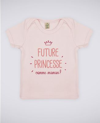 T-Shirt bébé Future princesse