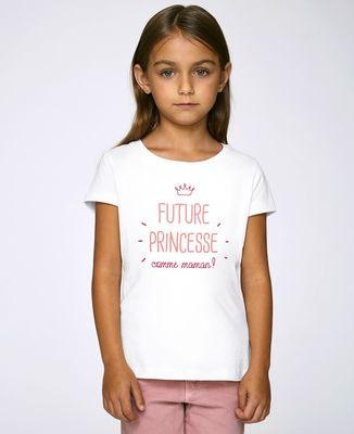 T-Shirt enfant Future princesse