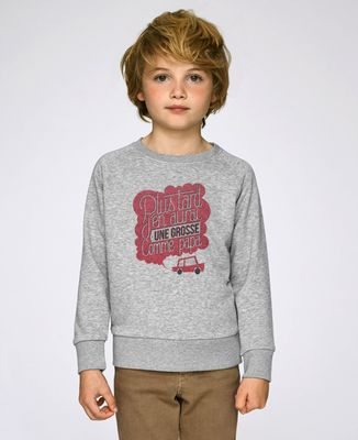Sweatshirt enfant Grosse comme Papa