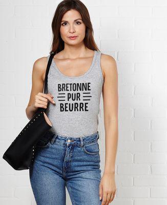 Débardeur femme Bretonne pur beurre