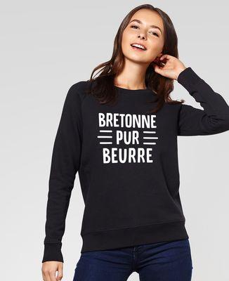 Sweatshirt femme Bretonne pur beurre