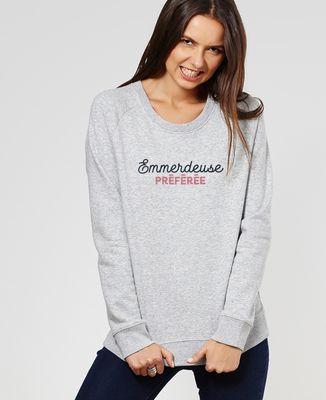 Sweatshirt femme Emmerdeuse préférée
