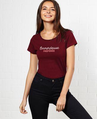 T-Shirt femme Emmerdeuse préférée