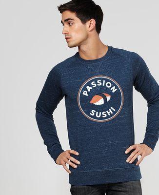 Sweatshirt homme Passion sushi